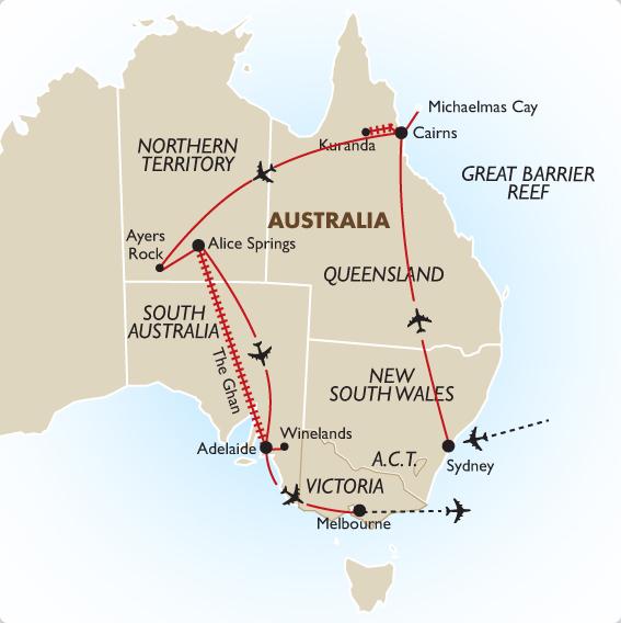 Best Of Australia Fully Escorted Australia Tour Goway
