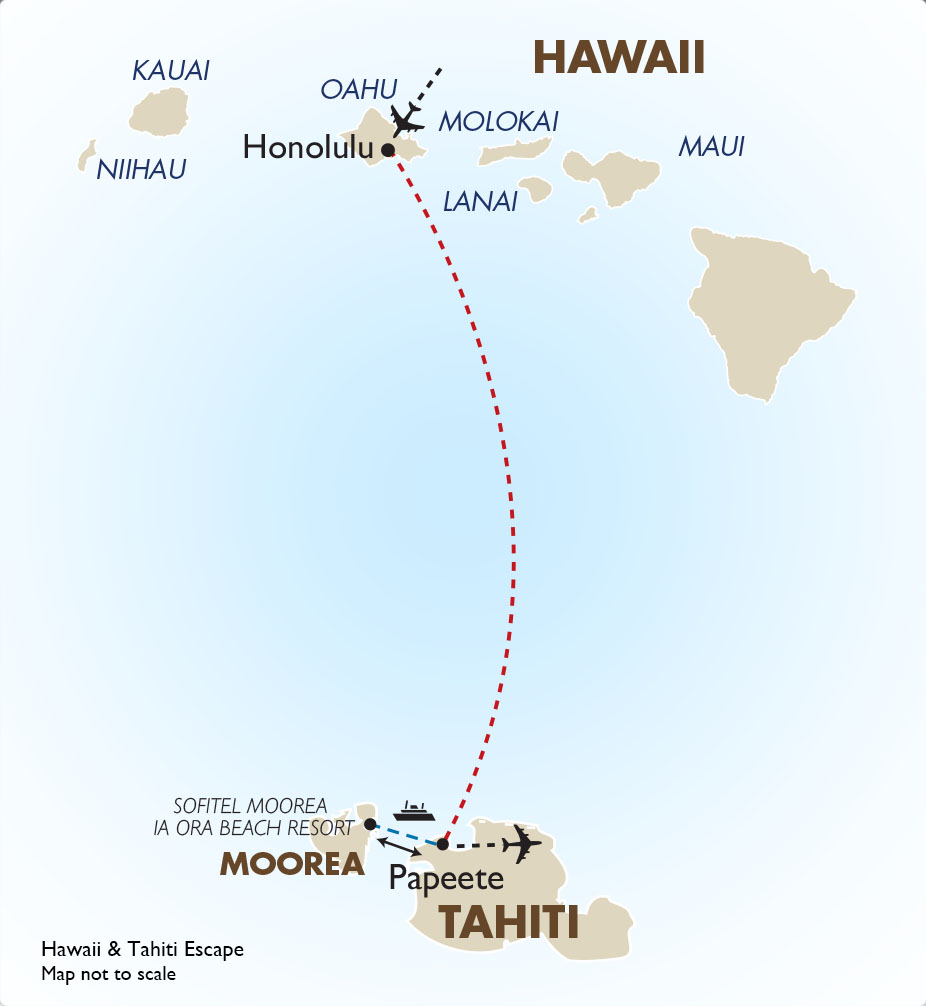 Hawaii Tahiti Escape Tahiti Vacation Goway Travel