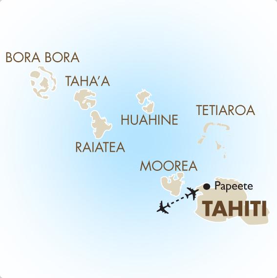 Tahiti Geography  Maps  Tahiti Vacations  201718  Goway