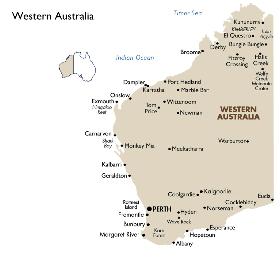 Western Australia Australia Vacations 2019 20