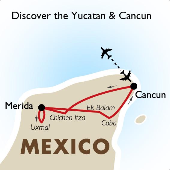 Discover the Yucatan & Cancun Mexico Vacation