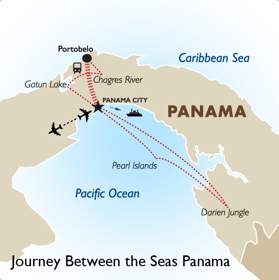 Journey Between the Seas Trip to Panama