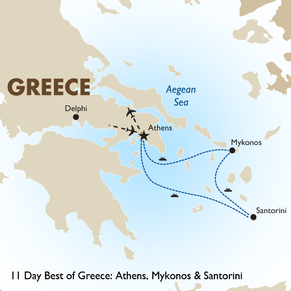 Best Of Greece Greece Vacations Goway Travel