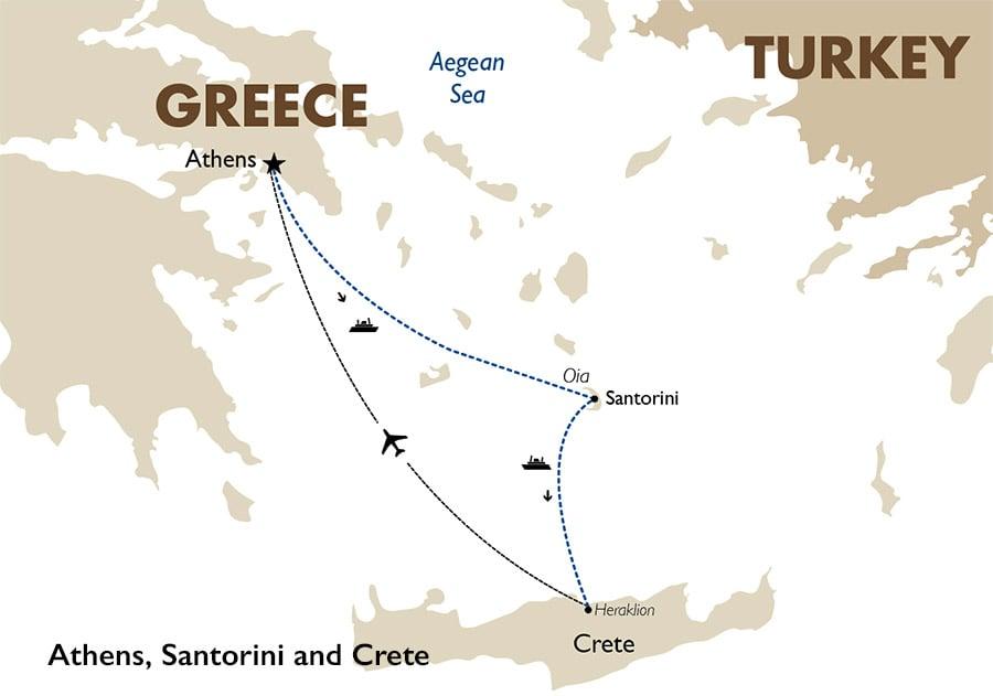 Athens Santorini Crete Greece Vacations Goway Travel