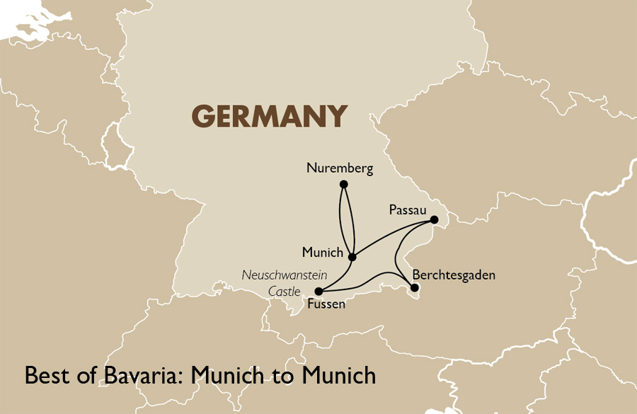 Best of bavaria germany vacations goway travel best of bavaria munich to munich sciox Image collections