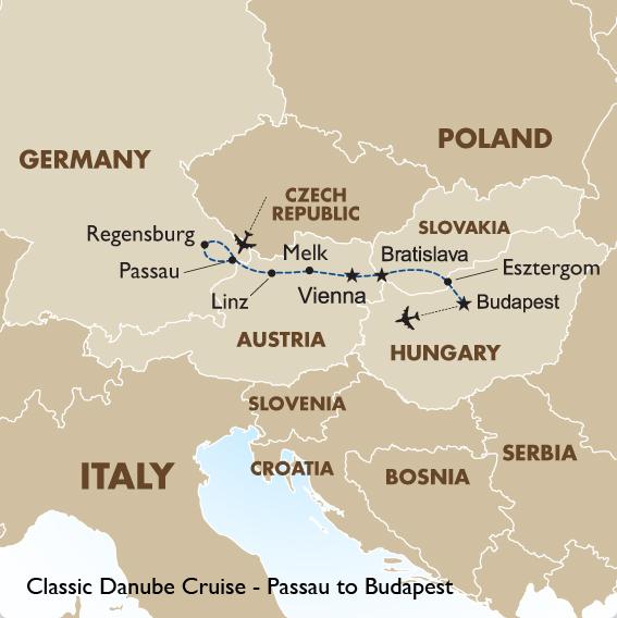 Danube Cruise Passau to Budapest European Tours Goway Travel