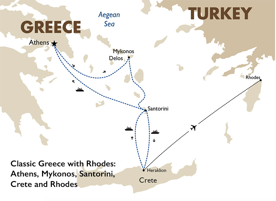 Classic Greece Greece Vacation Packages Goway Travel