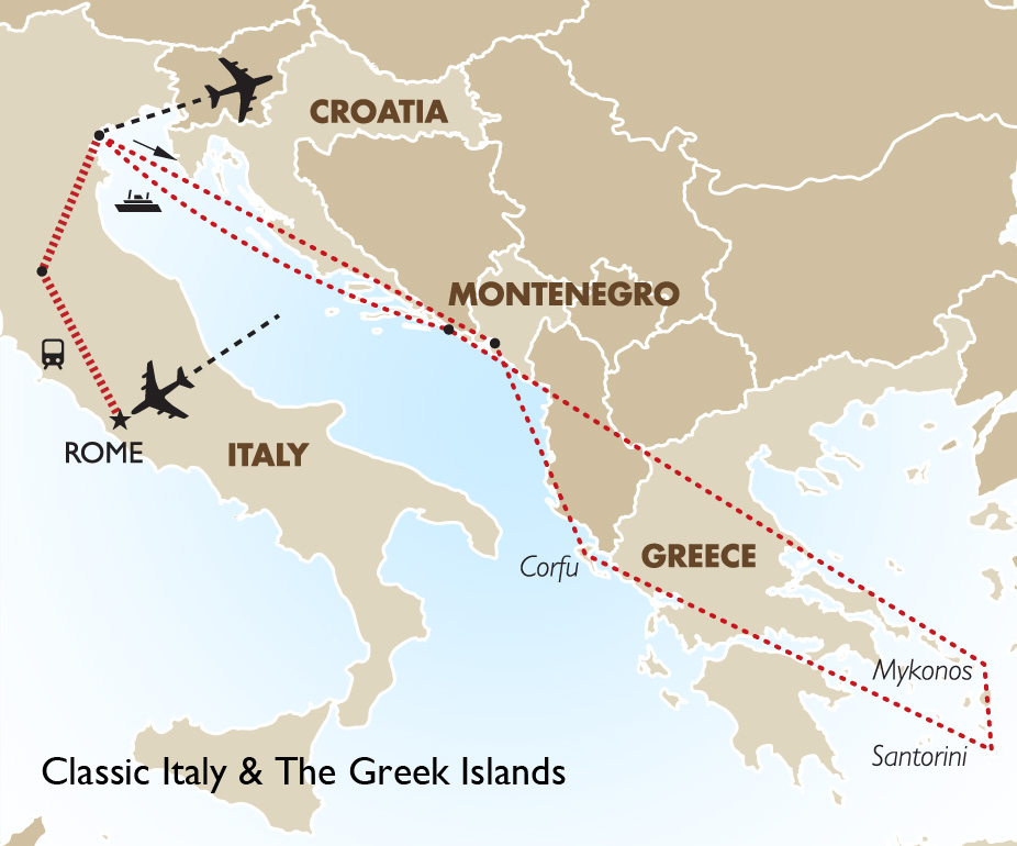 Classic Italy & the Greek Islands | European Tours | Goway Travel