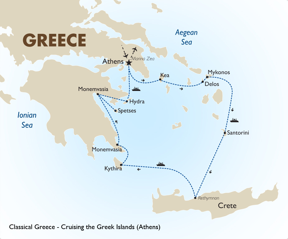 Cruising the Greek Islands Greece Vacation Goway Travel