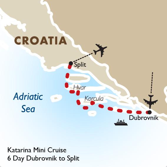 Cruise Dubrovnik to Split | Croatia Vacation | Goway Travel