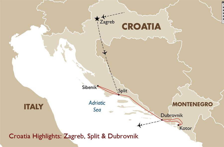 Croatia highlights croatia vacation goway travel croatia highlights zagreb split dubrovnik gumiabroncs Images