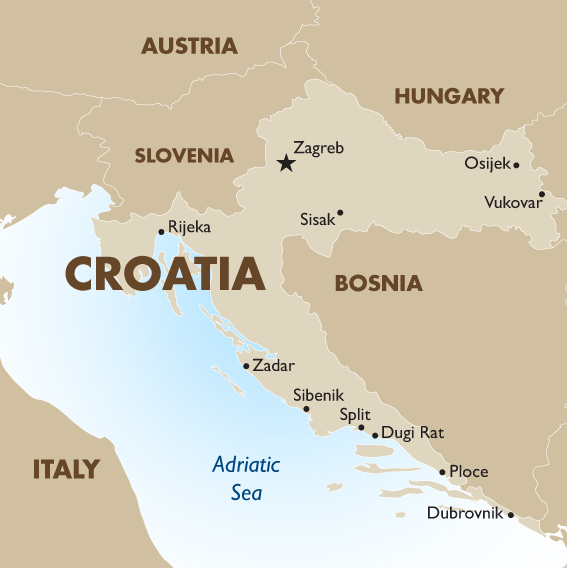 Croatia - Geography and Maps | Goway Travel