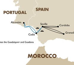Cruise the Guadalquivir and Guadiana