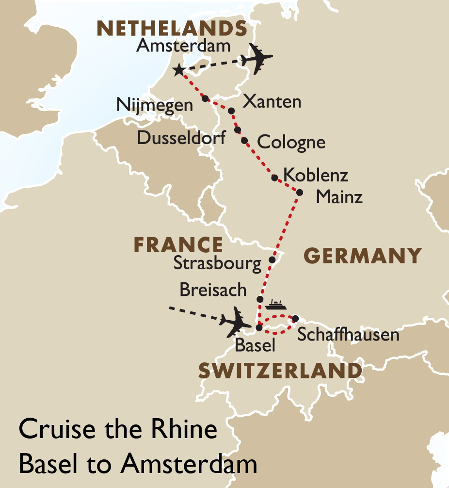 Rhine Cruise Basel to Amsterdam European River Cruises Goway Travel