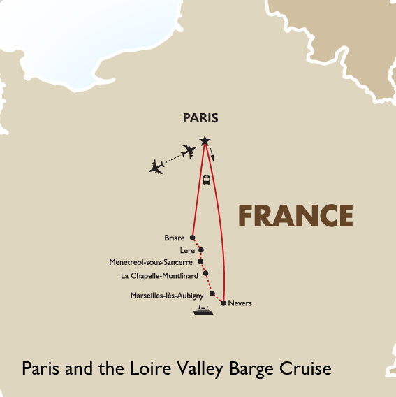 Paris & Loire Valley Barge Cruise | France Vacation | Goway Travel