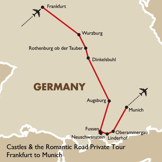 Castles The Romantic Road Germany Vacation Goway Travel