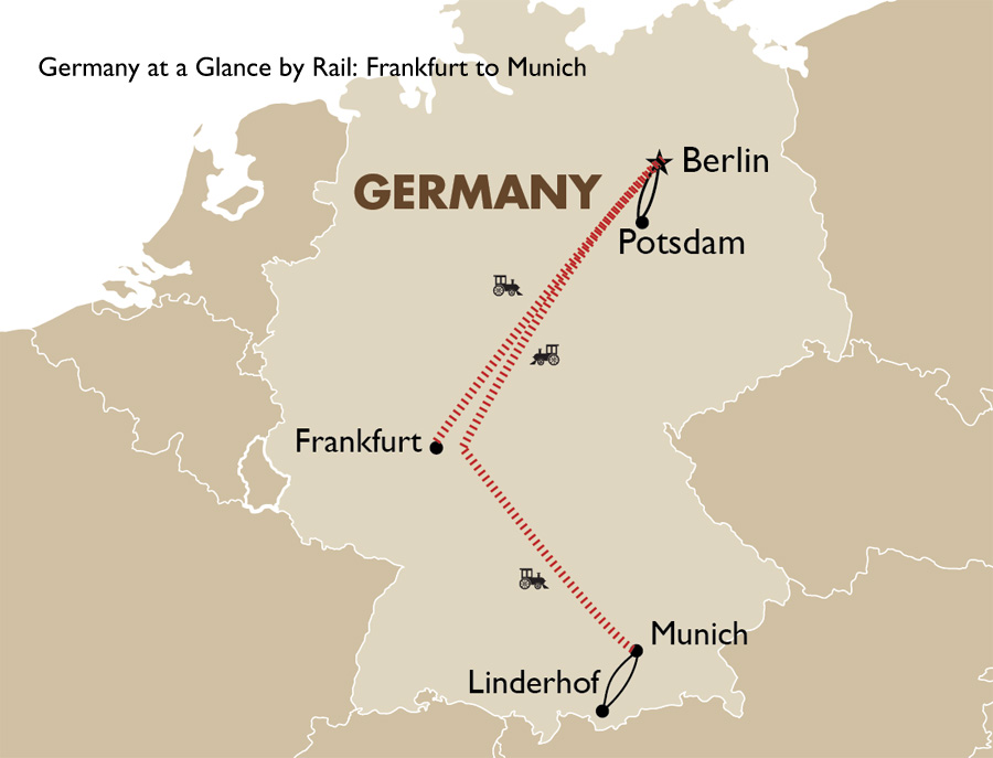 Germany at a Glance Frankfurt to Munich Germany Travel Package