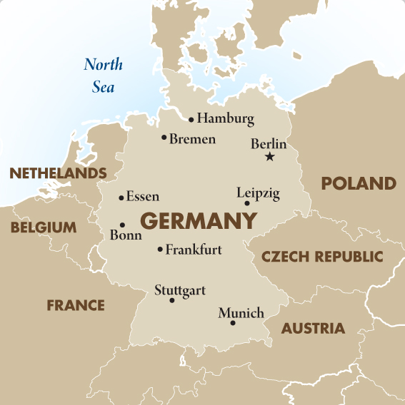 Map Of Countries Surrounding Germany.Current Czech Geography Home Decor And Design Images