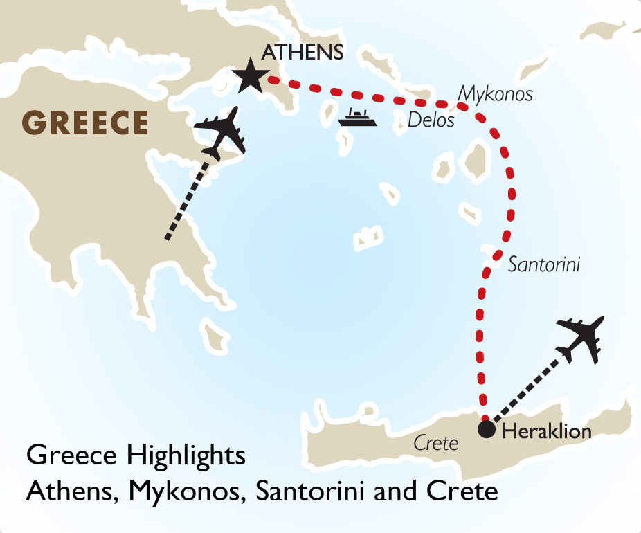 Greece Highlights Greece Vacation Goway Travel