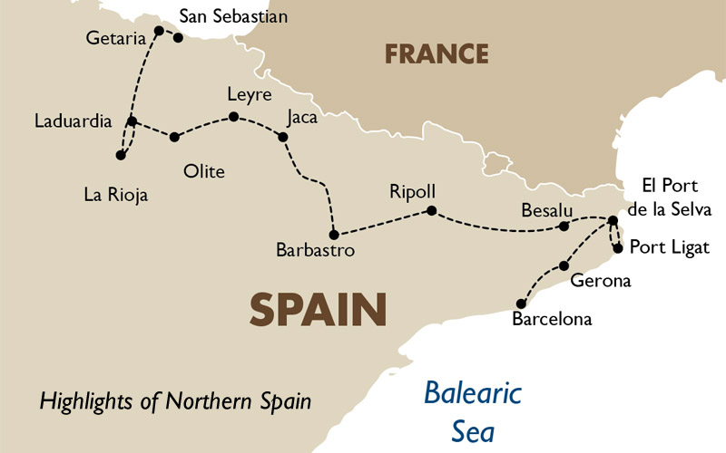 Highlights of Northern Spain Spain Tours