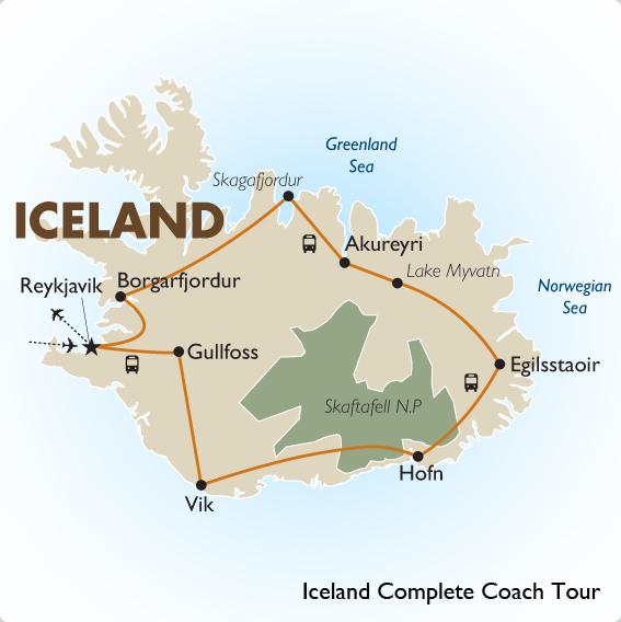 Iceland plete Coach Tour Reykjavik to Reykjavik