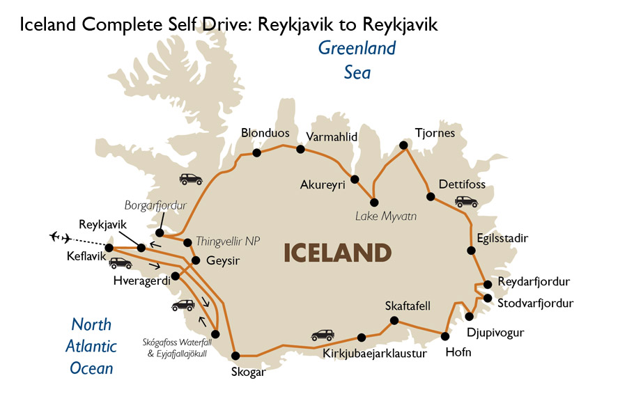 Iceland Complete Self Drive