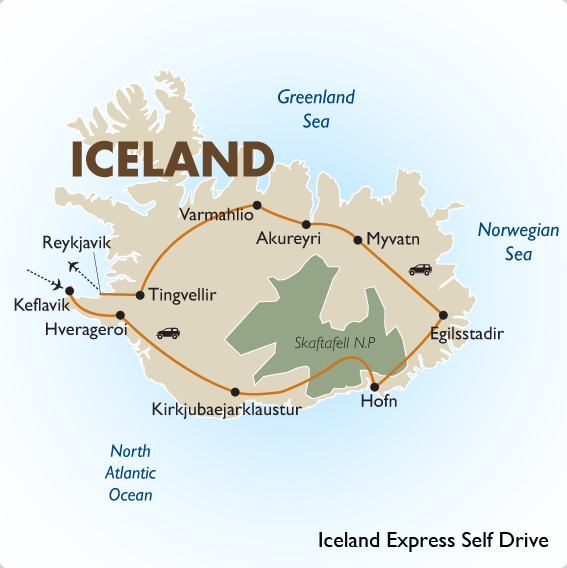 iceland express self drive goway travel