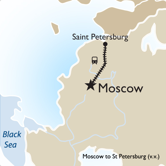 Moscow To St Petersburg By High Speed Train Russia Tours Goway