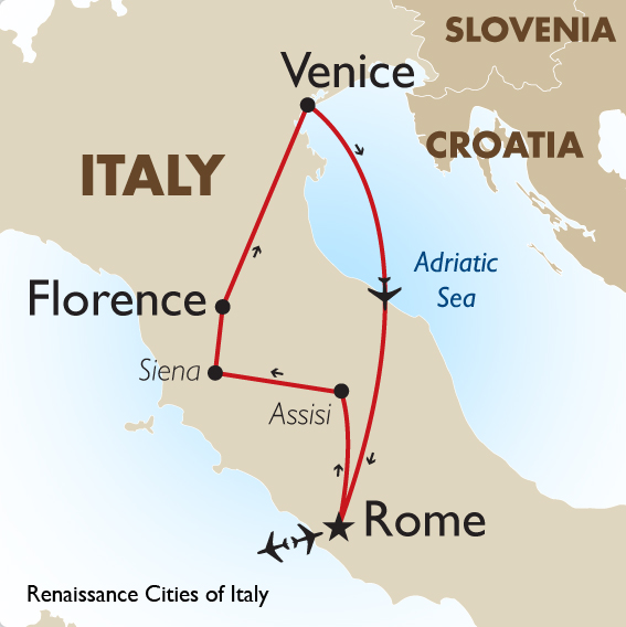 Renaissance Cities of Italy   Europe Motorcoach Touring   Goway