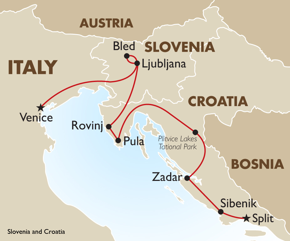 Slovenia & Croatia   Europe Small Group Tours   Goway