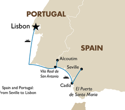 Spain and Portugal: Seville to Lisbon Cruise