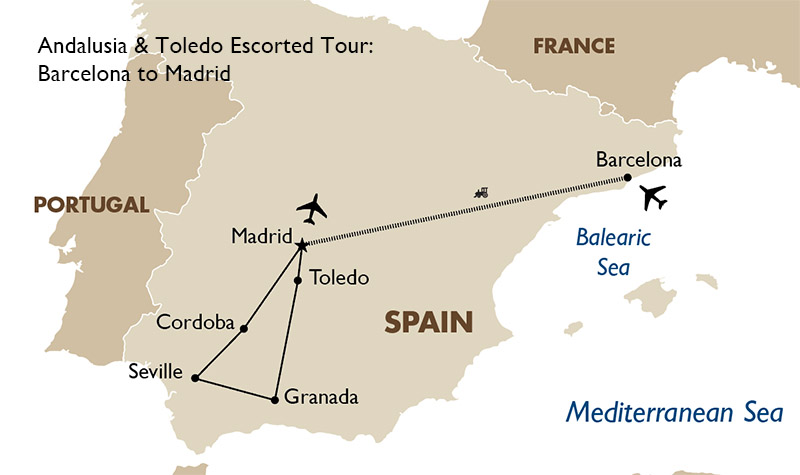 Andalusia & Toledo Spain Tour