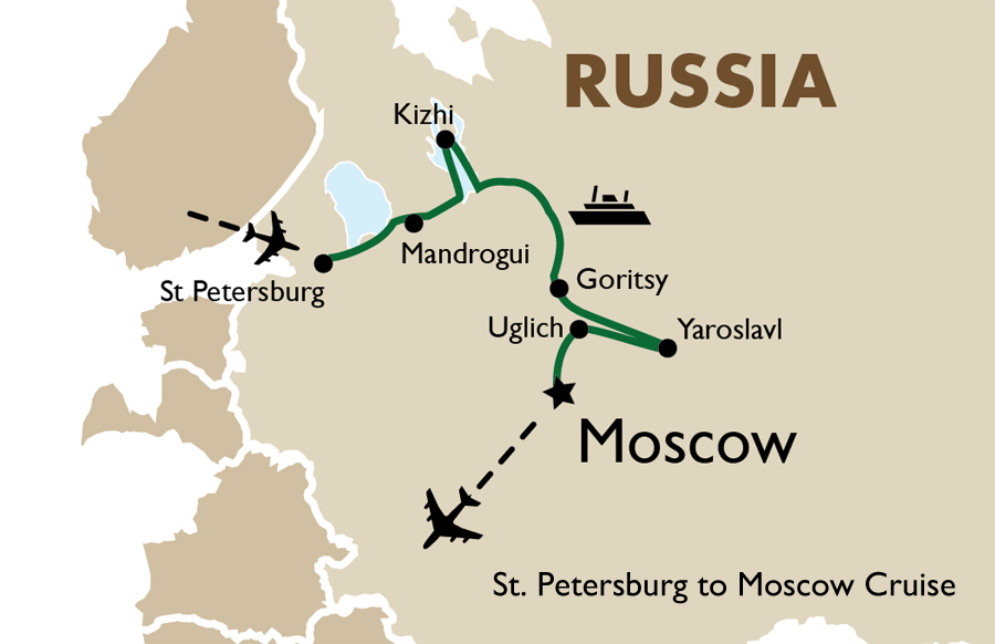 St Petersburg To Moscow Cruise Goway Travel