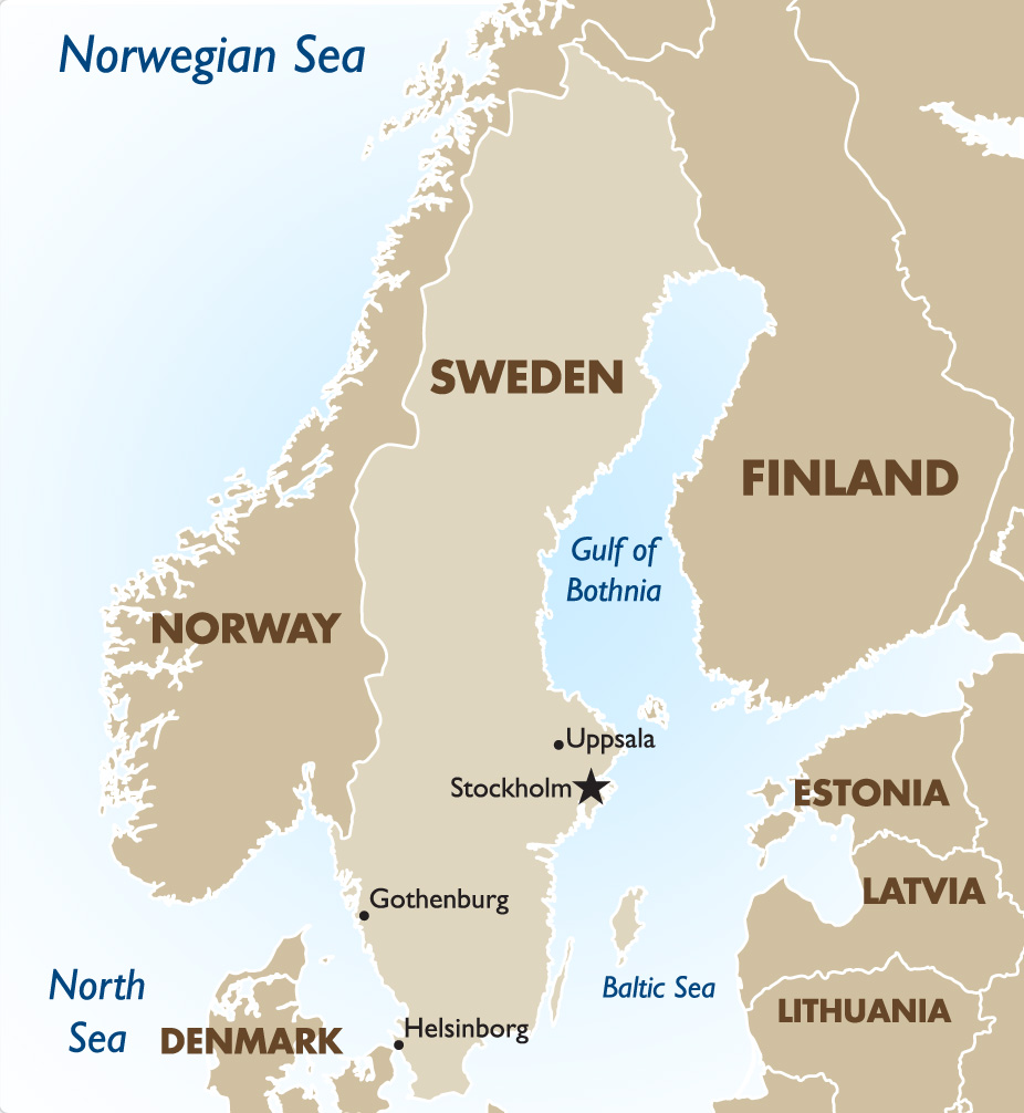Sweden Vacations Tours Travel Packages Goway - Sweden map stockholm