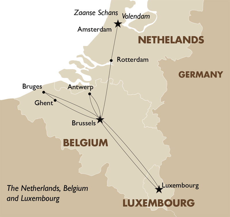 the netherlands belgium and luxembourg