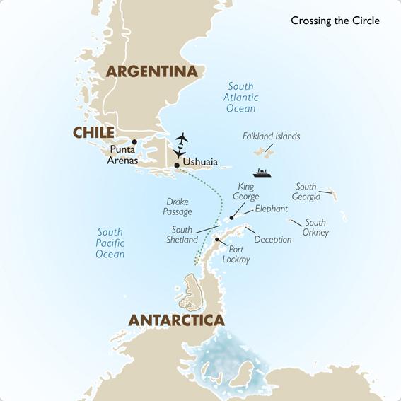 Cruising Antarctica Crossing The Circle Sea Adventurer
