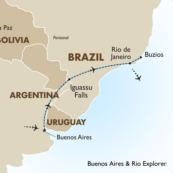 best way to get to iguazu falls from buenos aires