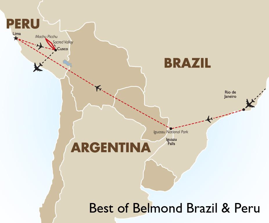 Brazílie – Peru
