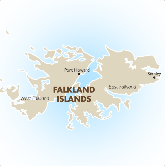 Falkland Islands Geography And Maps Goway Travel - Falkland islands map