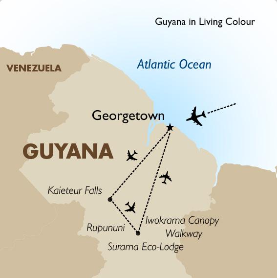 Guyana in Living Colour | Guyana Vacation | Goway