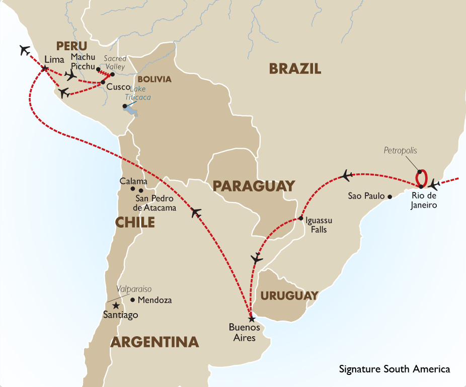 Signature South America South America Tours