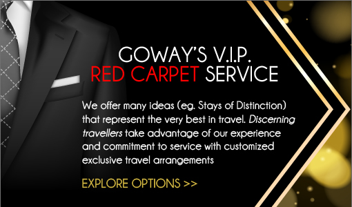 Goway's VIP Red Carpet Service