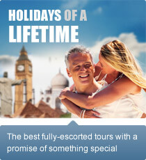 The best fully-escorted tours with a promise of something special.