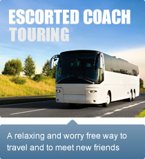A relaxing and worry free way to travel and meet new friends.