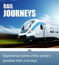 Experience some of the world's greatest train journeys.