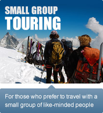 For those who prefer to travel with a small group of like-minded people.